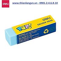 Gôm tẩy màu 4B Deli - 3045 màu xanh