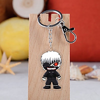 Móc chìa khóa hình nhân vật Tokyo Ghoul Anime Keychain