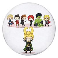 Gối Ôm Tròn Chibi Avengers - GOFF138
