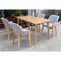 Bộ bàn ăn 4 ghế PL04
