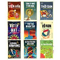 Combo Trọn bộ 9 cuốn Dẫn Nhập Ngắn Về Khoa Học: Stephen Hawking + Trí Tuệ Nhân Tạo + Vô Hạn + Vật Lý Hạt + Thời Gian + Tâm Lý Học Tiến Hóa + Di Truyền Học Biểu Sinh + Tiến Hóa + Trí Tuệ Nhân Tạo