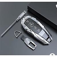 Ốp chìa khóa oto dành cho Mercedes chất liệu metal cao cấp, bảo vệ smartkey tuyệt đối, kiểu dáng sang trọng và hiện đại