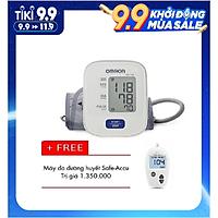 Máy đo huyết áp Omron Hem 7121 + Tặng Máy đo đường huyết Safe-Accu