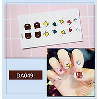 Bộ sticker dán móng tay trang trí 3D (1)