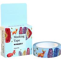 Băng Keo Giấy Trang Trí Masking Tape - Khu Rừng