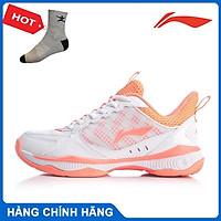Giày cầu lông nữ Lining AYTQ028-1 hàng chính hãng - Tặng kèm tất Bendu chính hãng
