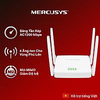 Bộ Phát Wifi Mercusys AC10 Băng Tần Kép AC1200 - Hàng Chính Hãng