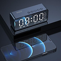 Loa Bluetooth 5.0 ROBOT Đa Chức Năng, Màn Hình LED Kiêm Đồng Hồ Báo Thức, Hỗ Trợ Nghe FM, Thẻ Nhớ - Hàng Chính Hãng