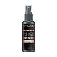Xịt lót kiềm dầu Makeup Revolution Conceal & Define Infinite Mattifying Priming Water - 50ml