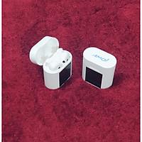 Tai nghe bluetooth không dây AMOI M6 Plus tích hợp đo nhiệt độ cơ thể, bluetooth 5.0, chống nước IP4, nghe nhạc và đàm thoại phù hợp cho mọi loại điện thoại-Hàng chính hãng