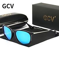 GCV Mới Tròn Thời Trang Kính Mát Phân Cực Nữ Cổ Điển Retro Kính Chống Nắng Cho Nam Lái Xe Unisex UV400 Lentes De Sol