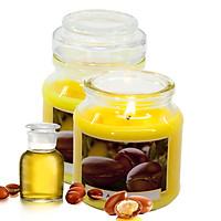 Hũ nến thơm tinh dầu Bartek Wellness & Beauty 130g QT06659 - hương hoa bông (giao mẫu ngẫu nhiên)
