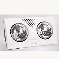 Đèn sưởi nhà tắm 2 bóng  MST-02
