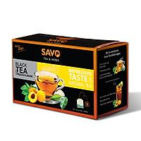Trà SAVO Đào (Peach Tea) - Hộp 25 Gói x 2g