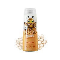 Sữa tắm gội toàn thân trẻ em không cay mắt hương hoa hướng dương OC Organic Care Popcorn 400ml
