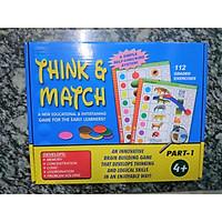 Think and match - Game luyện tư duy, giáo dục sớm cho trẻ bằng cách suy nghĩ và chọn các đối tượng kết nối tương ứng nhau
