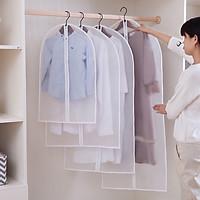 Combo 2 Túi bọc quần áo chống bụi bẩn, nấm mốc có khóa kéo tiện dụng size S/M/L giúp bảo vệ quần áo luôn sạch sẽ