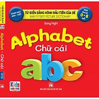 Sách - Baby'S First Picture Dictionary - Từ Điển Bằng Hình Đầu Tiên Của Bé - Alphabet chữ cái (Bìa cứng)
