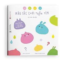 Sách Ehon Màu Sắc Chơi Trốn Tìm - Bộ Màu Sắc Quanh Ta - Sách Ehon Cho Bé 2-6 Tuổi