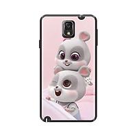 Ốp lưng TPU viền dẻo cho điện thoại SAMSUNG GALAXY NOTE 3 Hình Chuột Tết 2020 - Mẫu 04