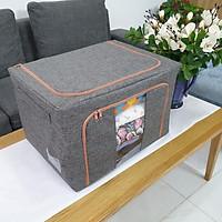 Túi đựng chăn màn khung sắt - TKS - vải Oxfort 600D cao cấp, phong cách Hàn bền, đẹp