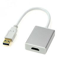 Cáp Chuyển Tín Hiệu Từ Cổng USB 3.0 Sang Cổng HDMI (hỗ trợ 1080P cho hình ảnh sắc nét)