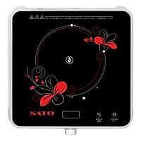 Bếp Từ Đơn SATO STB 702 (Tặng nồi lẩu Inox) - Hàng chính hãng