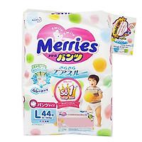 Tã quần Merries bịch siêu đại L44 miếng