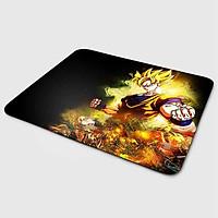 Miếng lót chuột mẫu Goku Tóc Vàng (20x24 cm) - Hàng Chính Hãng