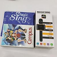 Combo Micro Karaoke MagicSing hàng chính hãng kèm Lốc 5 Vở Ô Ly Campus B5 One Piece Legend - NB-BOPL200 (200 Trang) và áo mưa cánh dơi