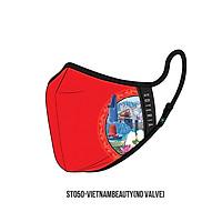 Khẩu trang thời trang cao cấp Soteria VietnamBeauty ST050 - Khẩu trang vải than hoạt tính [size M,L]