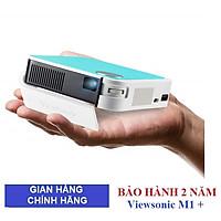 Máy chiếu mini Wifi ViewSonic M1 mini Plus  - Hàng chính hãng