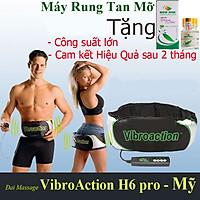 Đai Massage Bụng  Máy Mát Xa  VIBROACTION cao cấp MỸ