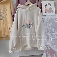 Áo hoodie 2 chữ N K ngược DTR1120