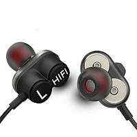 Tai nghe điện thoại Hifi D3 thiết kế 2 Đường tiếng có Mic