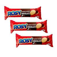 Combo 3 Bánh Quy Rosy Kem Hương Sô Cô La - Combo 3 Rosy Chocolate Flavoured Cream Sandwich Crackers Nhập Khẩu Từ Thái Lan Chuẩn Vị, Phù Hợp Ăn Tiếp Thêm Năng Lượng, Đãi Tiệc Sinh Nhật, Ăn Vặt, Ăn Xế, Tiệc Ăn Liên Hoan, Sinh Nhật (100gram/hộp)