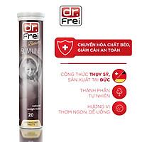 Viên Sủi Hỗ Trợ Giảm Cân Dr. Frei Slim Line L-Carnitine (20 Viên)