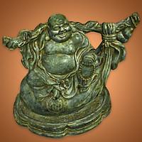 Tượng Phật Di Lặc ngồi gánh bị - DL107