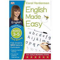 Sách - Early Writing Preschool Ages 3-5 - Home Learning -  Carol Vorderman