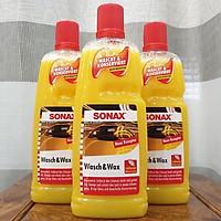 Nước rửa xe 2:1 SONAX Wash & Wax (Rửa & Wax bóng sơn) 1000ml
