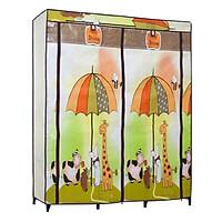 Tủ Vải Thanh Long TVAI14 - Vàng