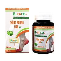 Sản phẩm Gout Thống Phong Đan bảo vệ sức khỏe (liệu trình toàn diện 4 hộp - hộp 90 viên)
