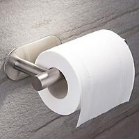 Móc Inox SUS304 Treo Cuộn Giấy Vệ Sinh Dán Lên Tường Gạch Men - không cần khoan tường - Hobby G5