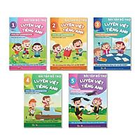 Sách - Bài Tập Bổ Trợ Luyện Viết Tiếng Anh - English Workbook Từ Lớp 1 Đến Lớp 5 Tập 1