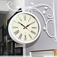 Đồng hồ conxon treo tường màu trắng
