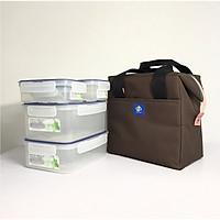 Túi giữ nhiệt đựng hợp cơm văn phòng KeepFood - VN204XL Size Lớn - Nhiều màu sắc