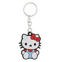 Móc Khóa Silicon Hoạt Hình Dễ Thương - Hello Kitty