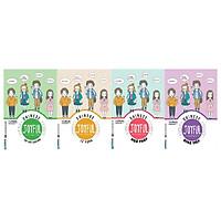 Trọn Bộ 4 Cuốn Joyful Chinese - Vui Học Tiếng Trung: Giao Tiếp + Từ Vựng + Ngữ Pháp + Tập Viết ( tặng kèm sổ tay mini dễ thương KZ )