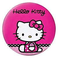 Gối Ôm Tròn Hello Kitty Nền Hồng - GOCT033
