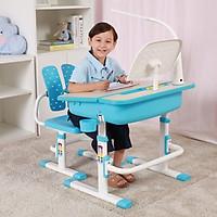 Bộ bàn ghế học tập thông minh trẻ em điều chỉnh độ cao, tựa lưng ghế tách rời C501